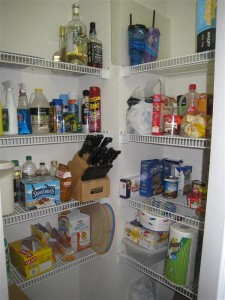 Pantry after purge