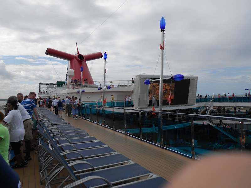 Carnival Dream Pool and Outdoor Theater