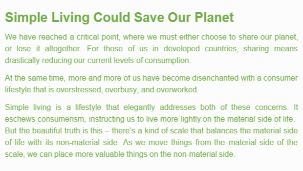 Simple-Living-Could-Save-Our-Planet
