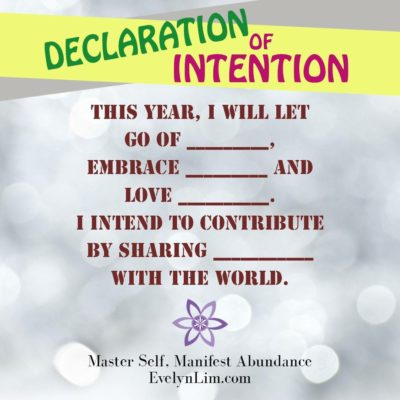 Declaration of intention